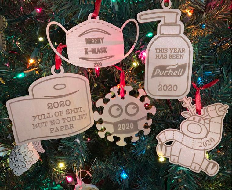 Humorous 2020 Ornaments