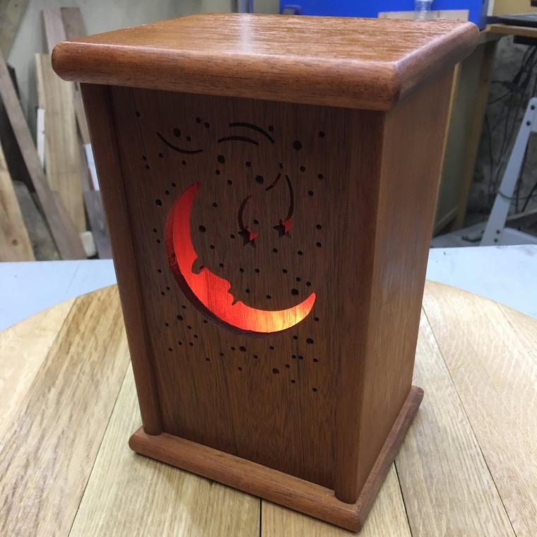 Lantern Nightlight with interchangeable panels