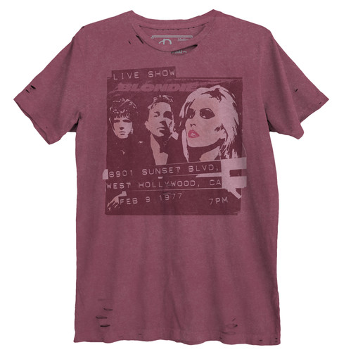 Blondie West Hollywood Destroyed Unisex Tee