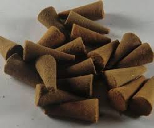 Almond Hand Dipped Incense Cones