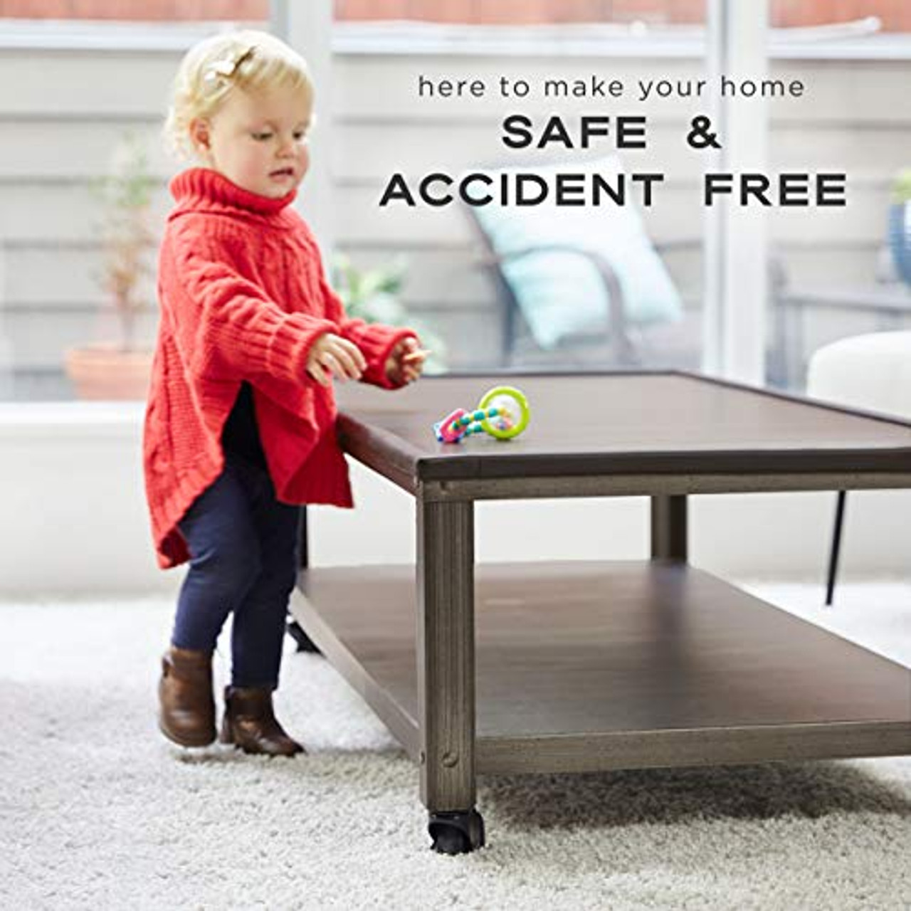 Free Home Baby Proofing Checklist - Ebony Black Moms Besty Extra Dense Child Safety Protectors /& Furniture Bumpers Set Total Coverage 15 Ft. Edge /& 4 Taped Corner Guards 16.2 Ft