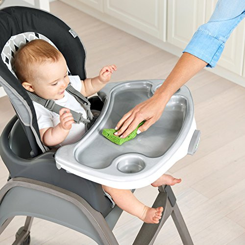 Ingenuity 3-in-1 Wood High Chair and Booster Ellison Toddler Chair High Chair