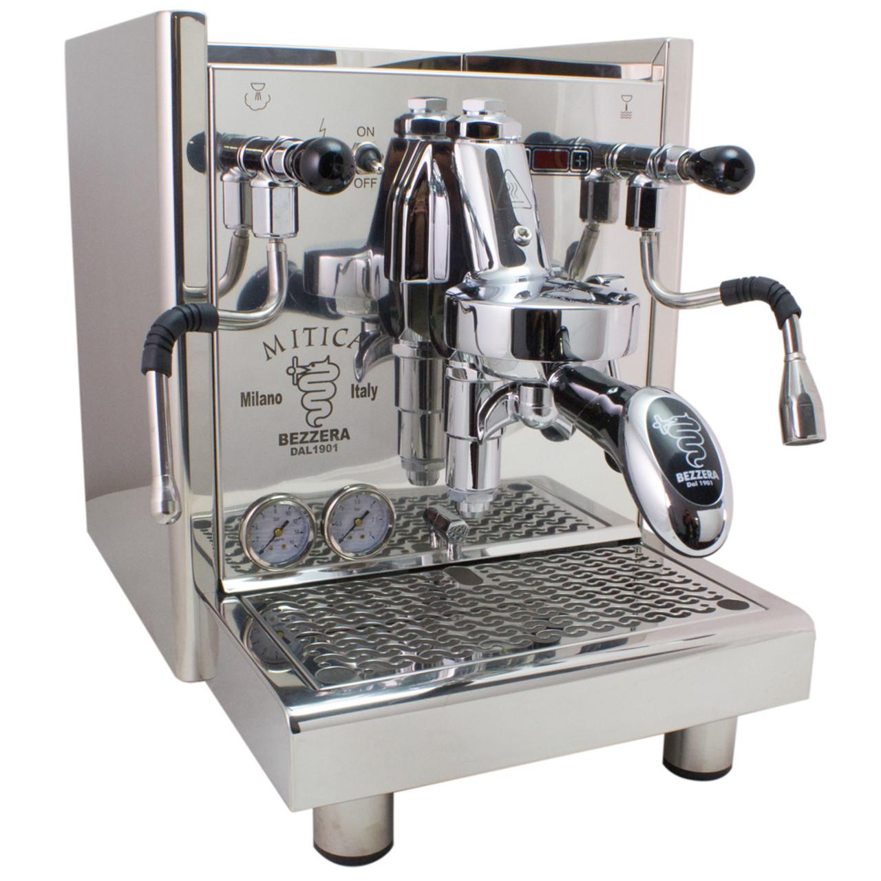 Bezzera Mitica Pid Commercial Espresso Machine Switchable Tank