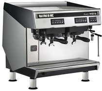 UNIC Mira Twin 2 Group Volumetric (Tall Cup) Commercial Espresso Machine