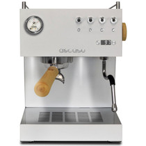 Ascaso Steel Uno Professional PID Espresso Machine – black, w/ wood handle & steam knob