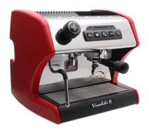 La Spaziale S1 Vivaldi II Espresso Machine - Red