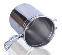 Caffe Arts™ Stainless Steel Seal Pot