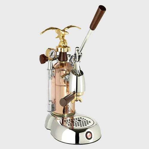 La Pavoni Grande Bellezza, Chrome / Copper 16 cup LGB-16