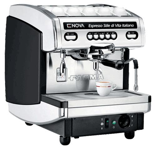 Faema Enova 1 Group Volumetric Commercial Espresso Machine