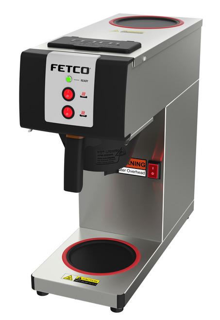 Fetco 0.5 gallon CBS-2121PW Pourover Coffee Brewer