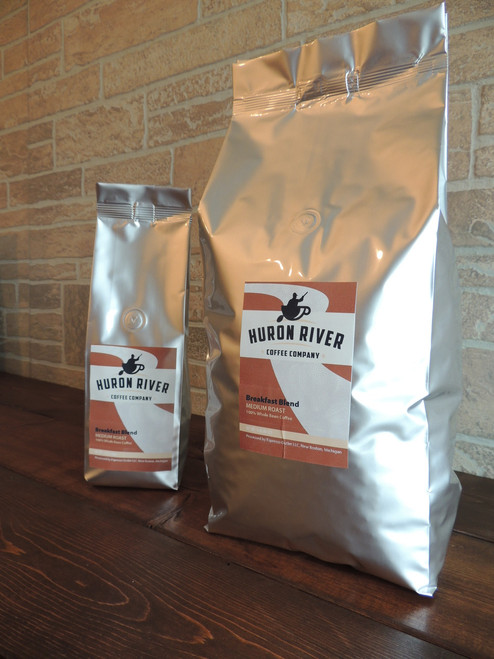 Breakfast Blend Whole Bean Coffee - 12oz, 5lb and 10lb Sizes