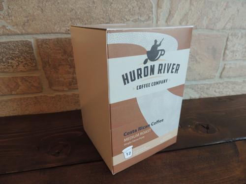 Costa Rican Tarrazu Single Serve Coffee Pods - 12 and 27 Packs