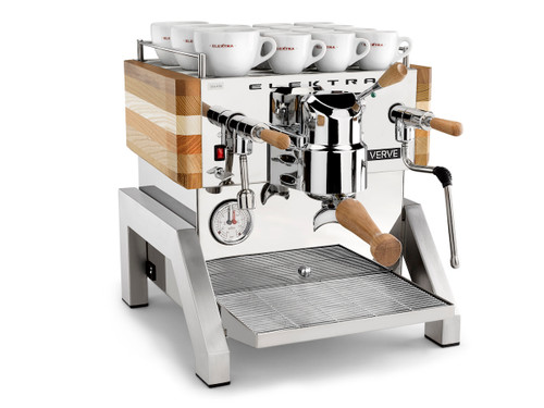 Elektra Verve Semi-Automatic Dual Boiler Espresso Machine – 1 Group