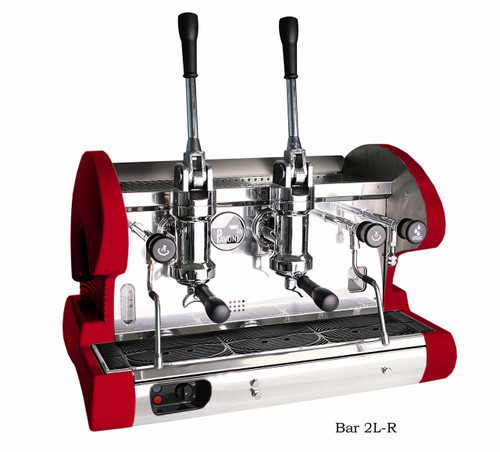 La Pavoni BAR L Espresso Machine - 2 or 3 Group, Lever, Black or Red