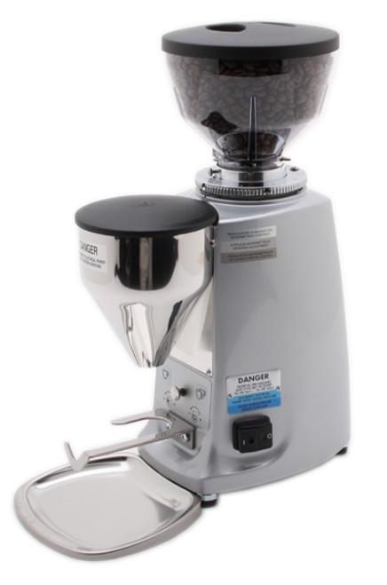 Mazzer Mini Electronic Doserless Espresso Grinder Type B - Silver or Black