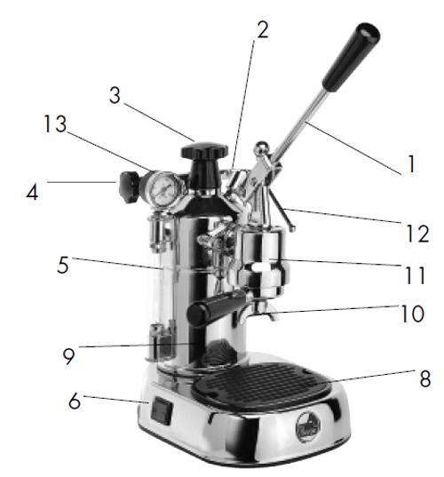 La Pavoni Professional Parts