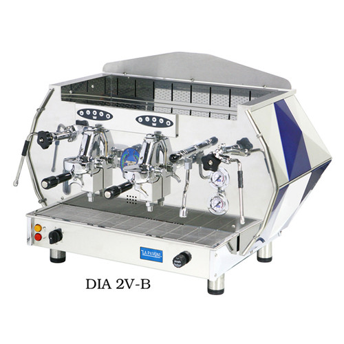 Diamante Automatic Commercial Espresso Machine 2 or 3 Group (Ruby Red or Sapphire Blue)