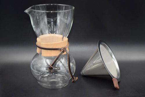 Caffe Arts™ Pour Over Cone Dripper - ESCSF902