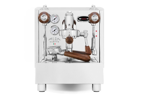 Izzo Alex Duetto 4 (IV) Plus Espresso Machine - Wood Accents
