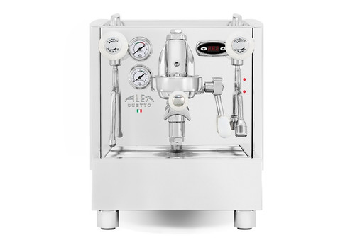 Izzo Alex Duetto 4 (IV) Plus Espresso Machine - White Accents