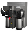 Fetco Twin Station CBS-2132XTS Touchscreen Series Airpot Coffee Brewer