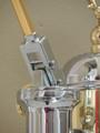 Elektra Micro Casa a Leva ART S1CO Chrome / Brass Lever Espresso Machine
