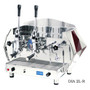 La Pavoni Diamante Lever Commercial Espresso Machine (Red or Blue) - 2 or 3 Group