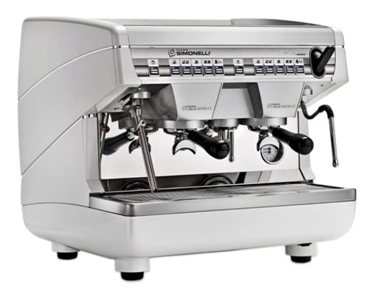 Nuova Simonelli Appia II 2 Group Volumetric Compact vs Standard Size Comparison