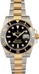 Rolex Pre-Owned Ceramic Submariner Custom Black Diamond Dial 116613LN