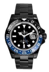 Rolex GMT Master II Batman 116710 Blue DLC-PVD