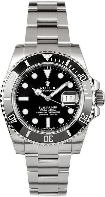 Rolex Pre-Owned Submariner Ceramic Date 116610LN