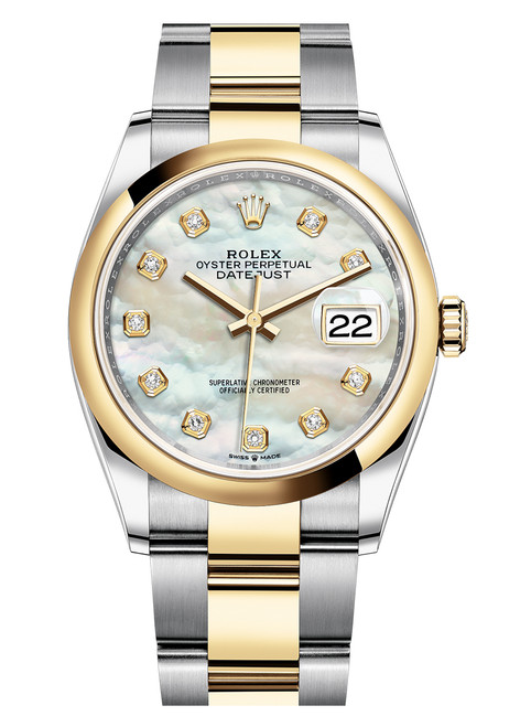 Rolex Datejust 36mm Two Tone 126203MOPDO