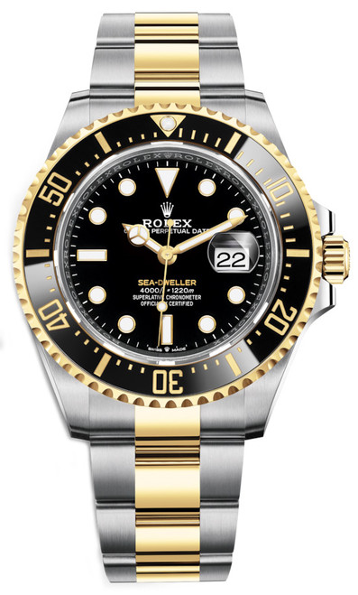 Rolex Sea-Dweller Two-Tone 126603