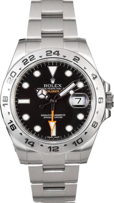Rolex  Explorer II 216570 Black 42mm