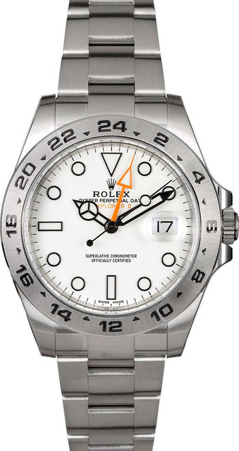 Rolex  Explorer II 216570 White 42mm