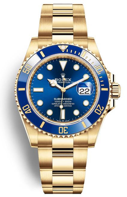 Rolex Submariner Blue 126618LB