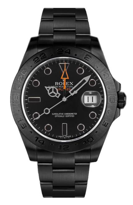 Rolex Explorer II 216570B  DLC-PVD