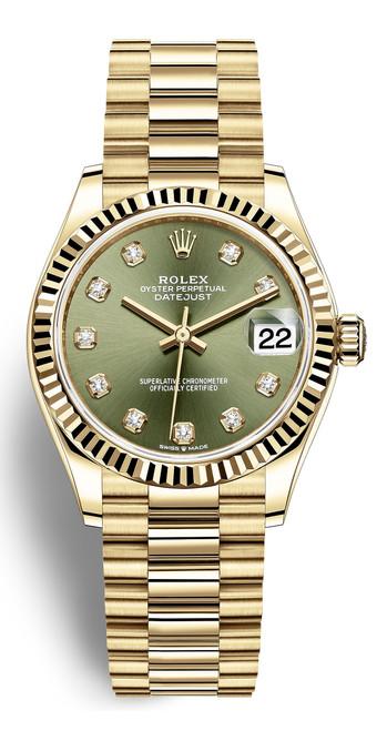 Rolex Lady President 31mm 278278GD