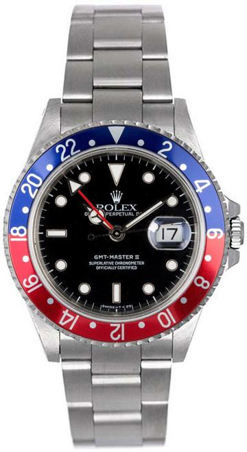 Rolex GMT-Master II Blue/Red 16710 Pepsi