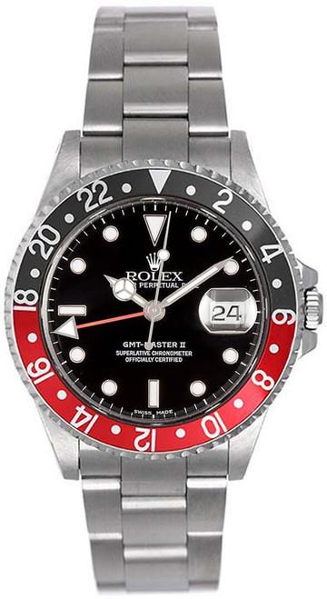 Rolex GMT-Master II Black/Red 16710 Coke