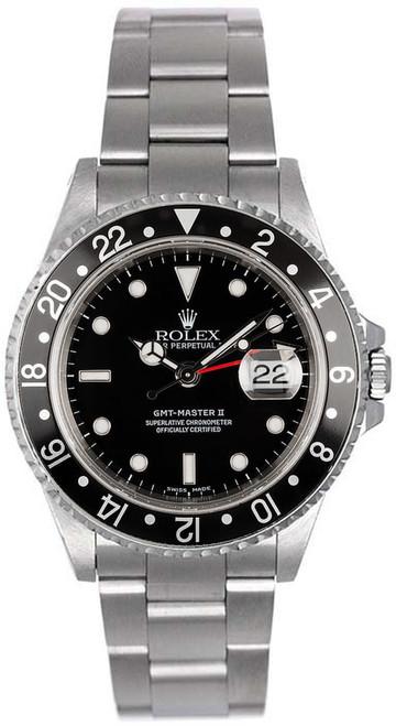 Rolex GMT-Master II Black 16710