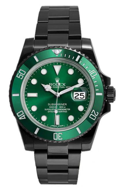 Rolex Submariner Green 116610 DLC-PVD