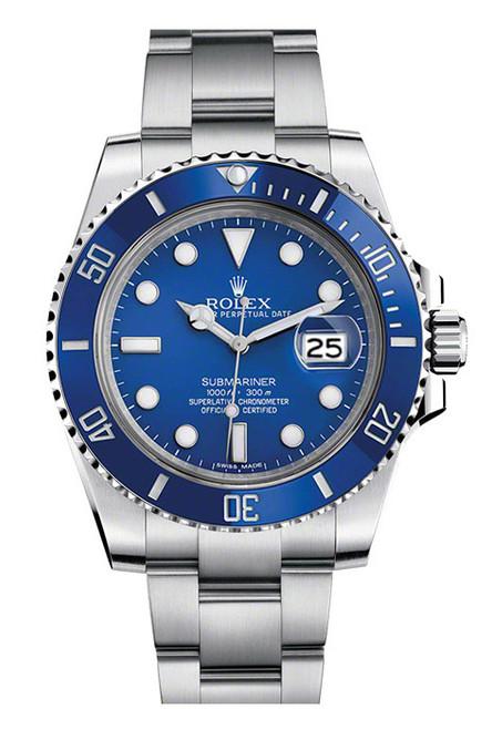 Rolex Submariner Custom Ceramic Blue 116610