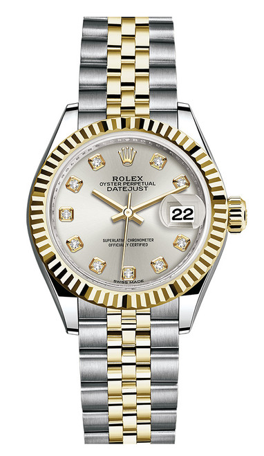 Rolex Lady Datejust 28mm Fluted Two-Tone 279173 SDFJ