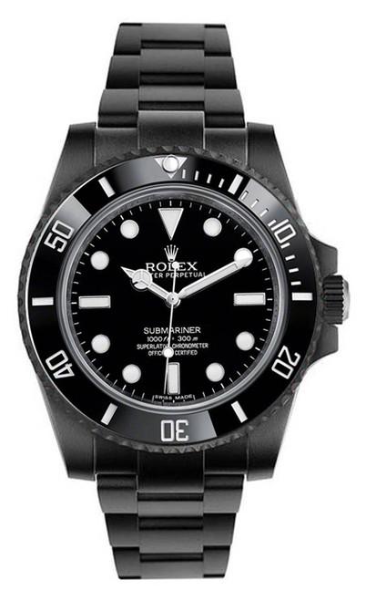 Rolex Ceramic Submariner 114060  DLC-PVD