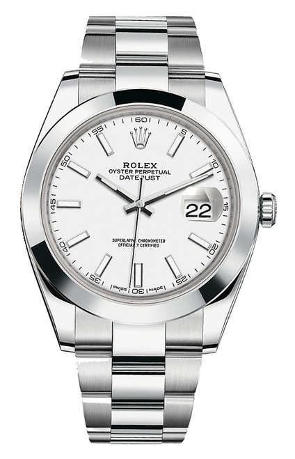 Rolex Datejust 41mm Stainless Steel 126300 WXO