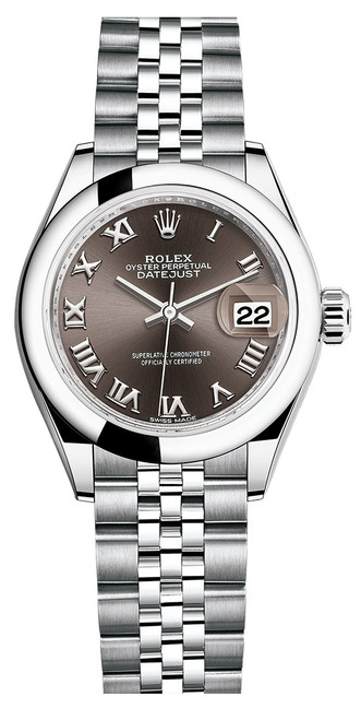 Rolex Lady Datejust 28mm Smooth Stainless Steel 279160BRSJ