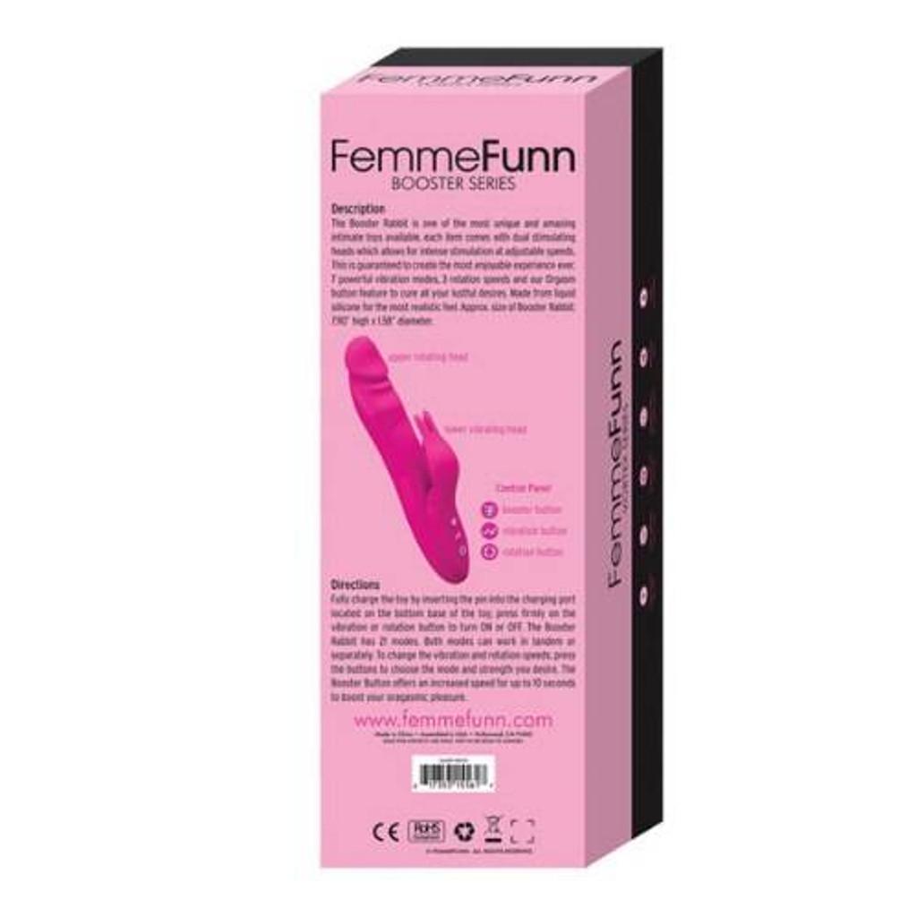 Femme Funn Booster Rabbit Vibrator