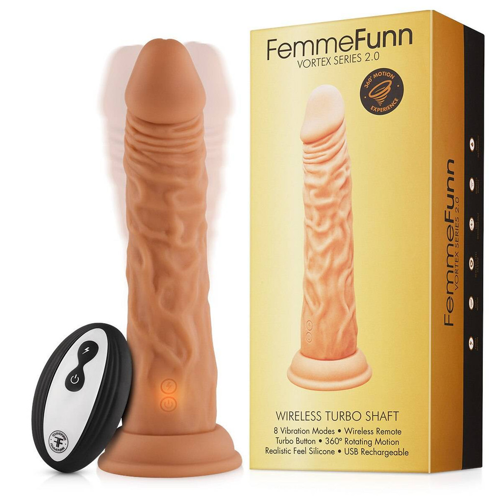 Femme Funn Turbo Shaft 2.0 Remote Controlled Vibrating Dildo