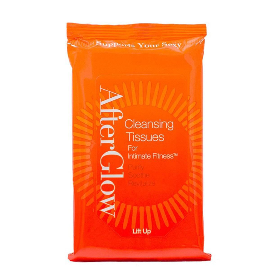 SHE AfterGlow Cleansing Tissues and Wipes